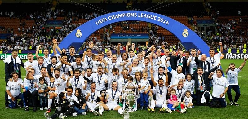 Real Madryt zwycięzca Ligi Mistrzów 2016 Undecima