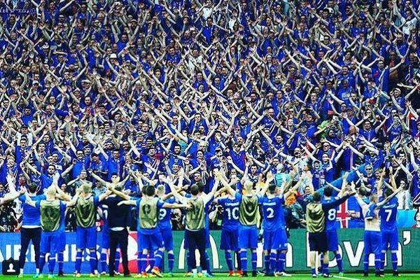 Euro 20161/8 finału Islandia Anglia