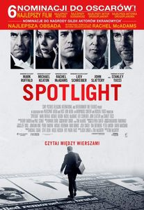 Spotlight McCarthy Schreiber Keaton Ruffalo McAdams Tucci recenzja