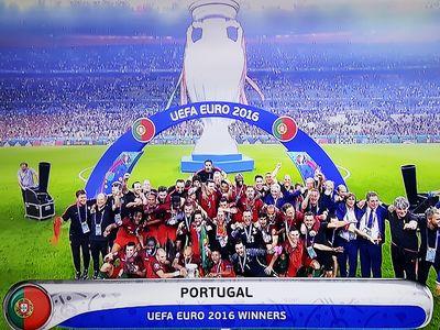 Portugalia Francja 1-0 finał mistrzostw Europy Euro 2016
