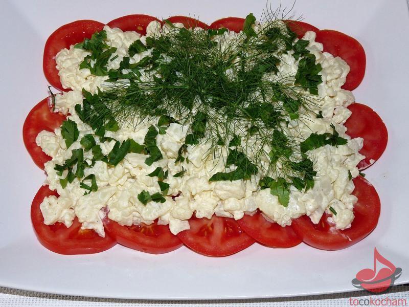Pomidory zkalafiorem wmajonezie tocokocham.com