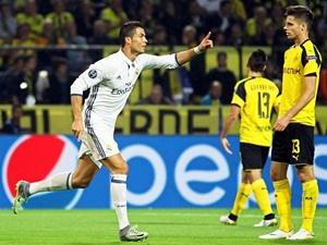 Borussia Real 2-2 Liga Mistrzów 2016/2017