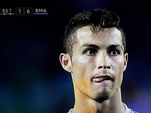 Betis Real Madryt 1-6 liga hiszpańska 2016/2017