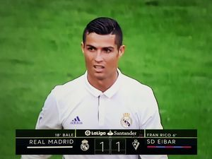Real Eibar 1-1 liga hiszpańska 2016/2017