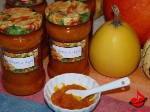 Dżem zdyni znutą pomarańczy iwanilii tocokocham.com