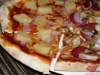 Pizza włoska tocokocham.com