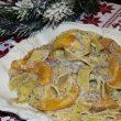 Makaron z brzoskwiniami w sosie makowo-waniliowym tocokocham.com