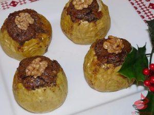 Pieczone jabłka faszerowane masą makową tocokocham.com