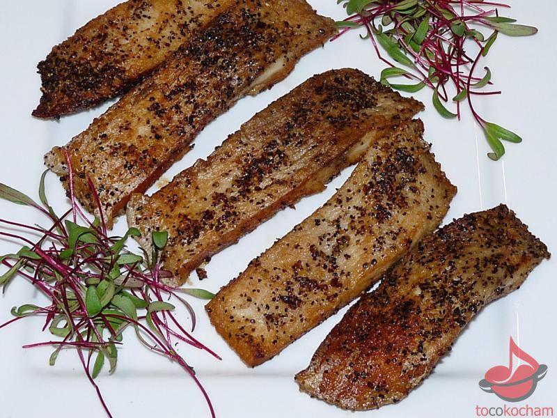 Smażony filet karpia tocokocham.com