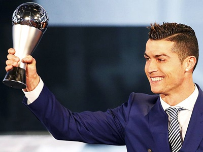 FIFA Best Player 2016 Cristiano Ronaldo