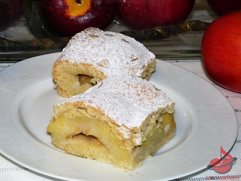 Szarlotka zpołówek jabłek tocokocham.com