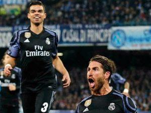 Napoli Real 1-3 Liga Mistrzów 1/82016/2017