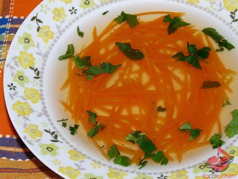 dieta drDąbrowskiej rosołek zvegetti marchwiowym tocokocham.com