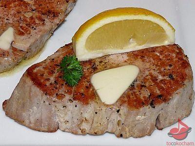 Stek ztuńczyka tocokocham.com