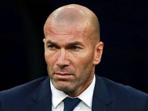 Zinedine Zidane Real Madryt coach trener