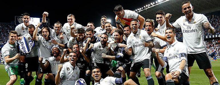 Real Madryt mistrz Hiszpanii 2016/2017