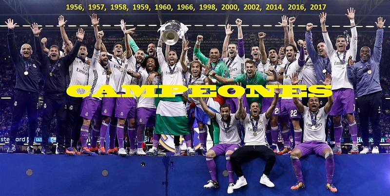 Campeones Champions League 2017 final Real Madrid