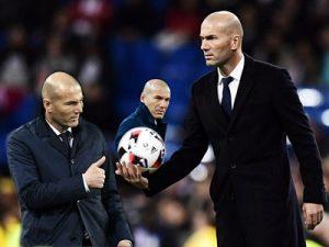 Zinedine Zidane trener Real Madryt