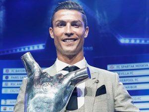 Cristiano Ronaldo UEFA Men's Best Player 2016/2017