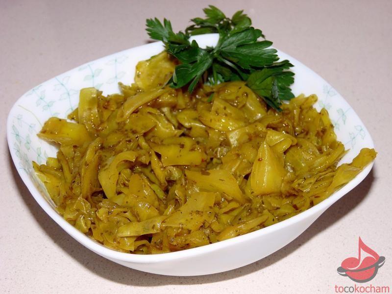 Kapusta curry - dieta drDąbrowskiej tocokocham.com