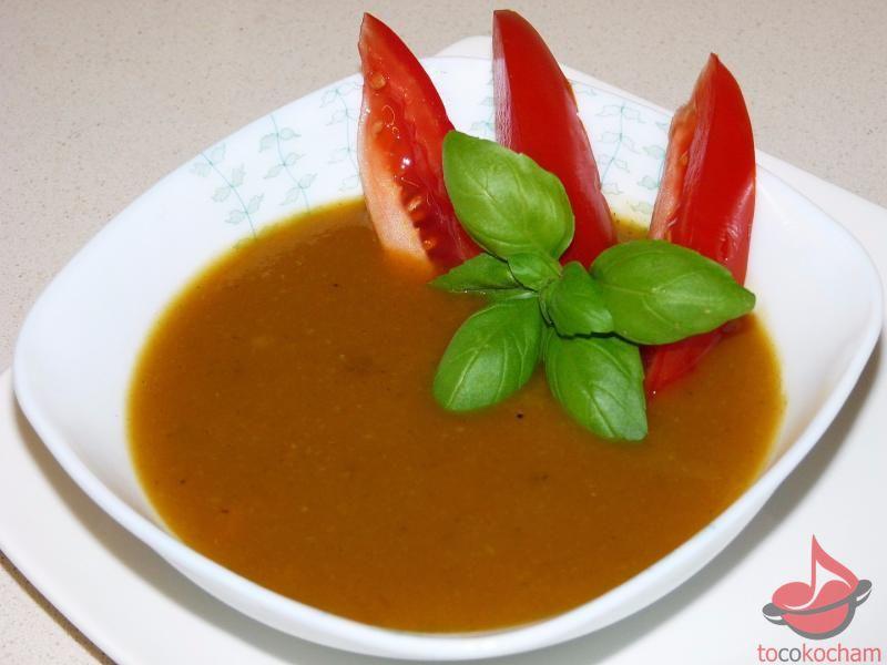 Kremowa zupa kalafiorowo-pomidorowa - dieta drDąbrowskiej tocokocham.com
