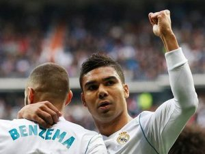 Real-Malaga 3-2 hiszpańska la liga 2017/2018