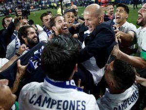 Real Madryt mistrz Hiszpanii 2017