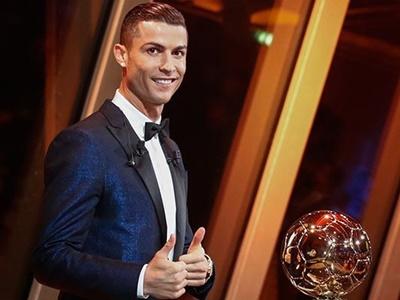 Cristiano Ronaldo Złota Piłka 2017