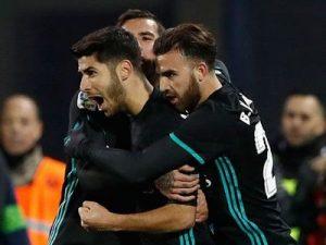 Leganes-Real 0-1 ćwierćfinał Puchar Króla 2017/2018