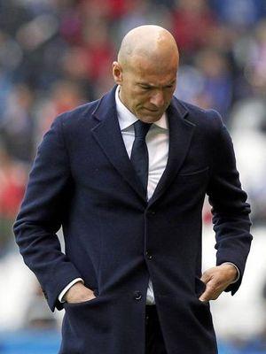 Zidane Real kryzys 2018