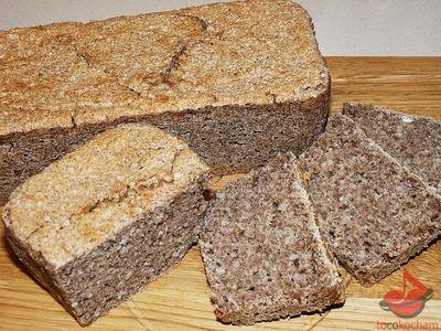 Bezglutenowy chleb zziarnami sorgo tocokocham.com