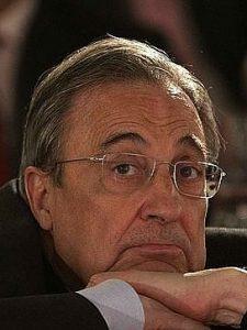 Florentino Perez prezes Real Madryt