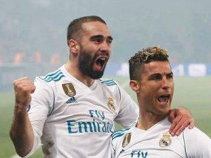 PSG-Real 1-21/8 Liga Mistrzów 2017/2018