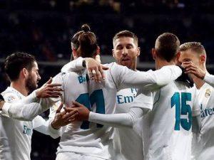 Real-Getafe 3-1 hiszpańska la liga 2017/2018