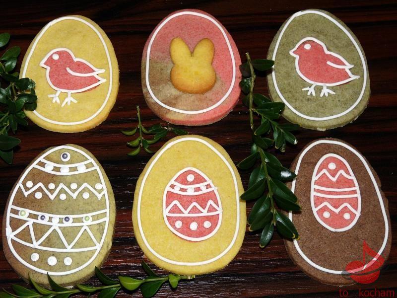kruche ciasteczka wielkanocne tocokocham.com