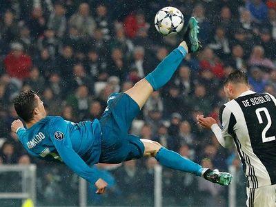 Cristiano Ronaldo przewrotka gol Liga Mistrzów 2018