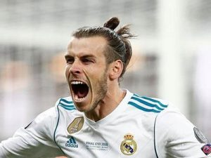 Gareth Bale Real Madryt 2018 Liga Mistrzów