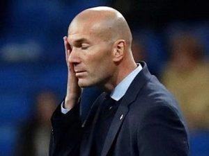 Zinedine Zidane Real Madryt cierpienie