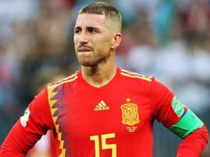 Sergio Ramos Hiszpania-Rosja 1-1