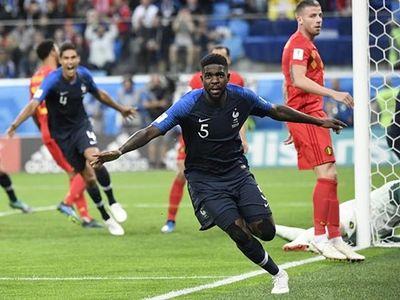 Półfinał mundial Rosja 2018 Francja-Belgia