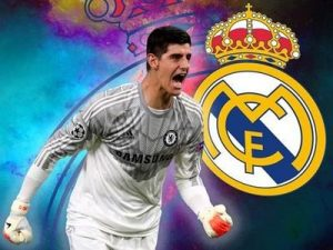 Thibaut Courtois Real Madryt 2018