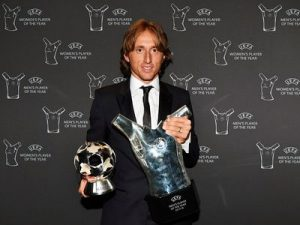 Luka Modrić UEFA Men's Player Year  2018
