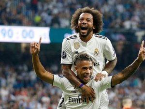 Real-Roma 3-0 Liga Mistrzów 2018/2019