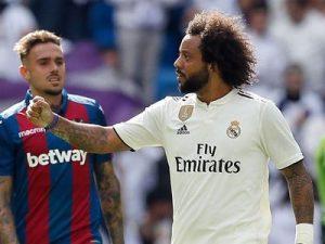 Real-Levante 1-2 hiszpańska la liga 2018/2019