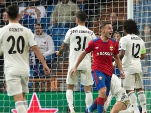 Real-CSKA 0-3 Liga Mistrzów 2018/2019
