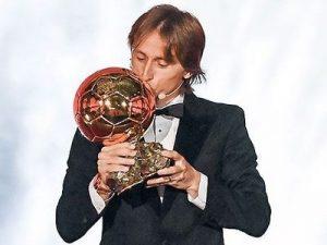 Złota Piłka 2018 Luka Modrić