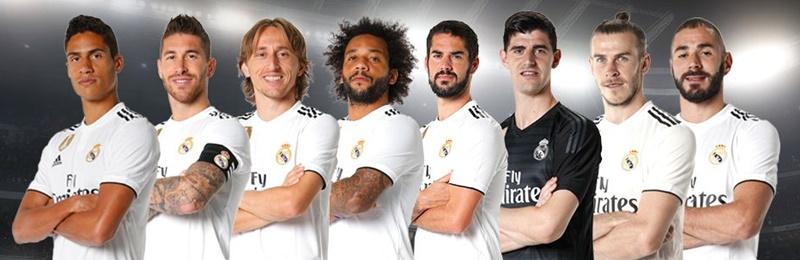 Złota Piłka 2018 Real Madryt
