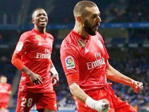 Espanyol-Real 2-4 hiszpańska la liga 2018/2019