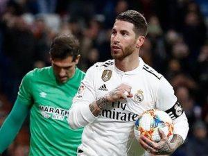 Real-Girona 4-2 Puchar Króla 2018/2019 ćwierćfinał