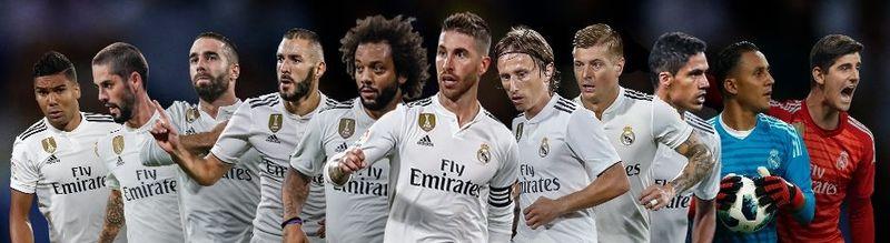 Real Madryt Santiago Solari 2018